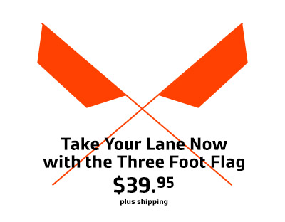 Buy the Three Foot Flag